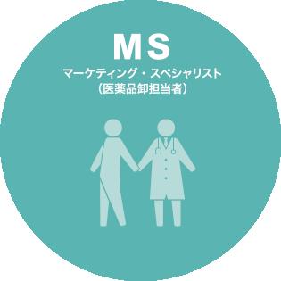 MS マーケティング・スペシャリスト(医薬品卸担当者)