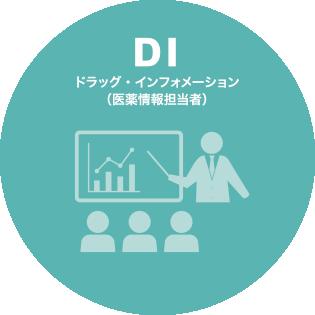DI ドラッグ・インフォメーション (医薬情報担当者)